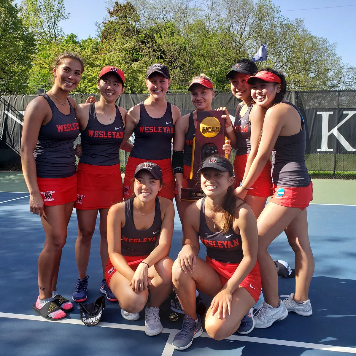test Twitter Media - RT @wes_athletics: Women's @cardstennis are your 2019 NATIONAL CHAMPIONS!!!!! #GoWes https://t.co/MNv8bXp95B