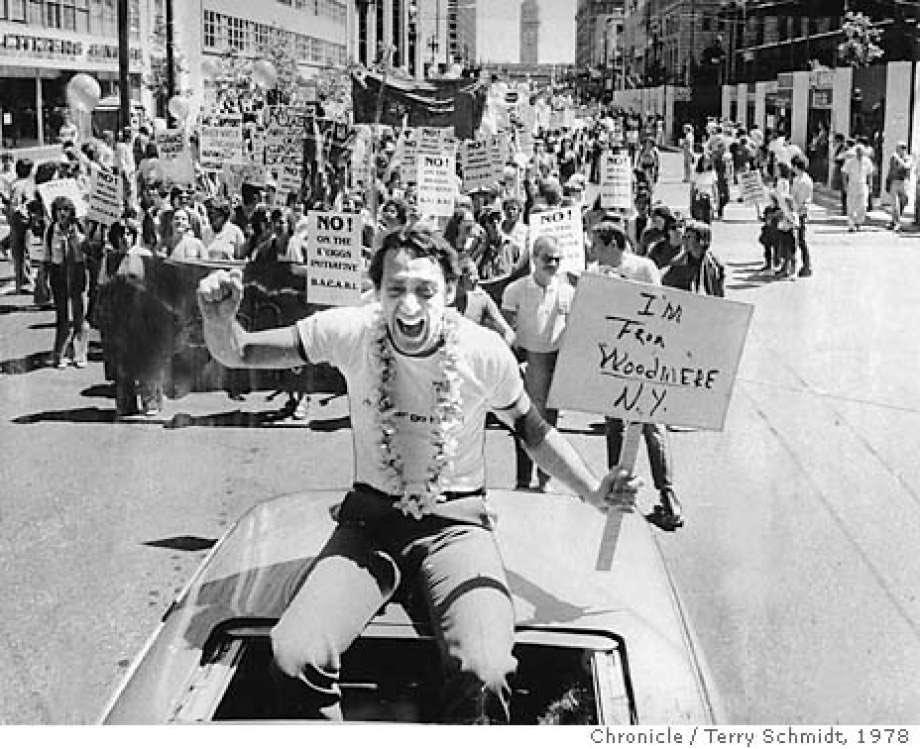 Happy birthday, Harvey Milk! Hope will never be silent