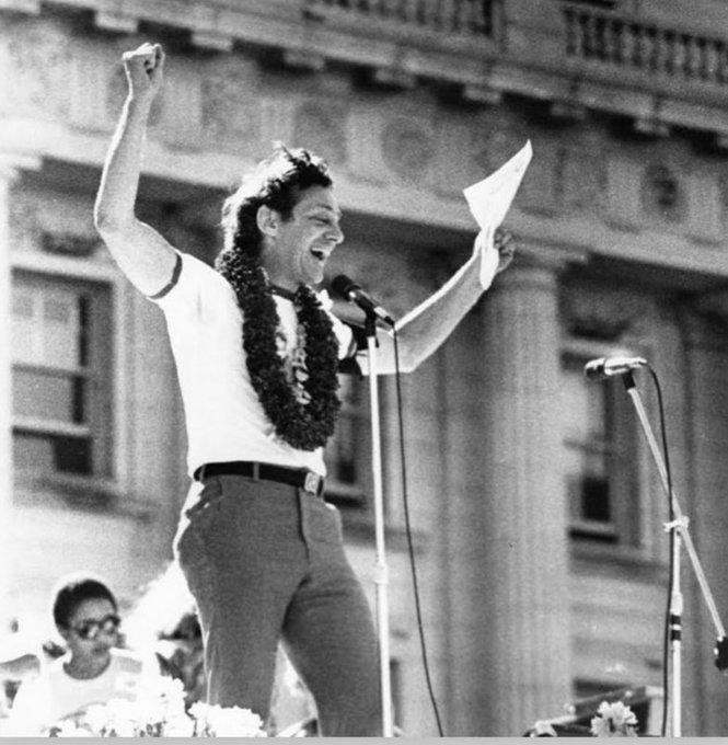Happy birthday Harvey Milk. Forever grateful.