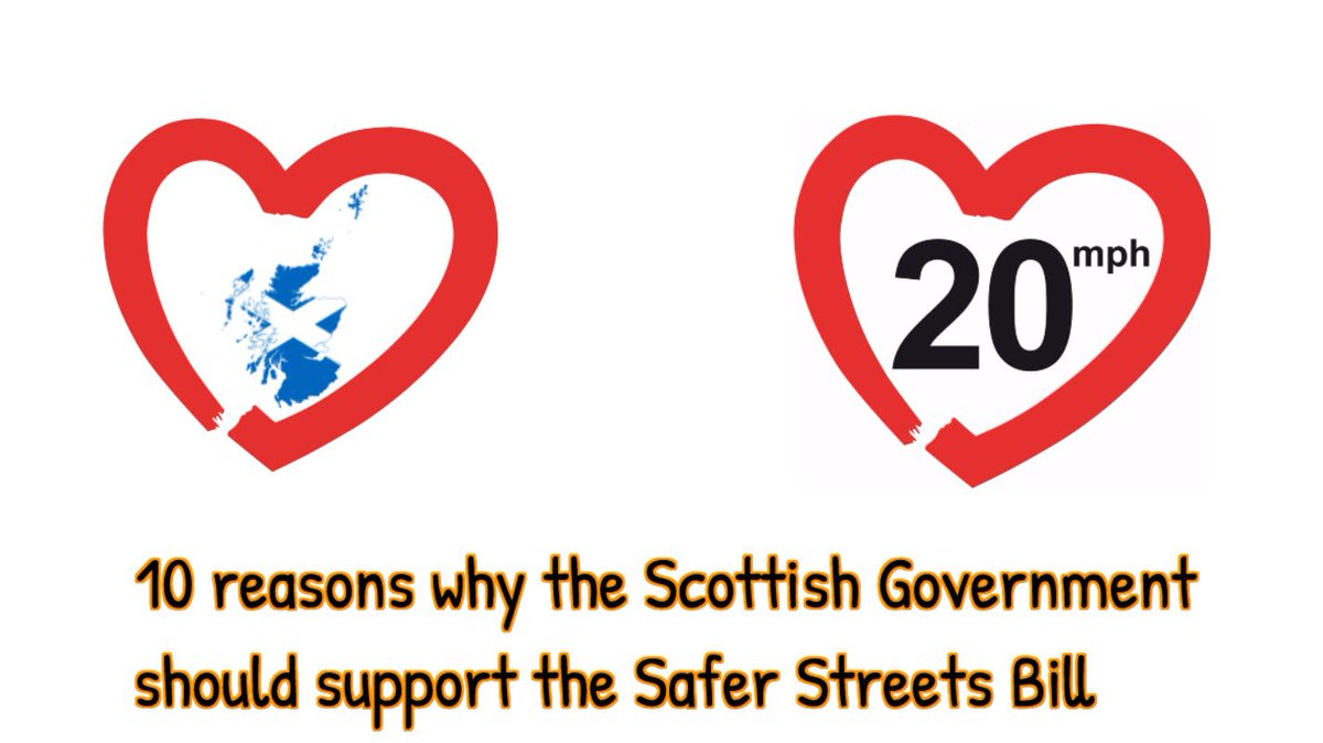 We provide 10+1 good reasons why the Scottish Government should support and adopt the Safer Streets Bill. Please take a look @NicolaSturgeon @MathesonMichael @SP_RECcttee Be bold and make Scotland an even better place to be.  See the video at https://vimeo.com/337590864