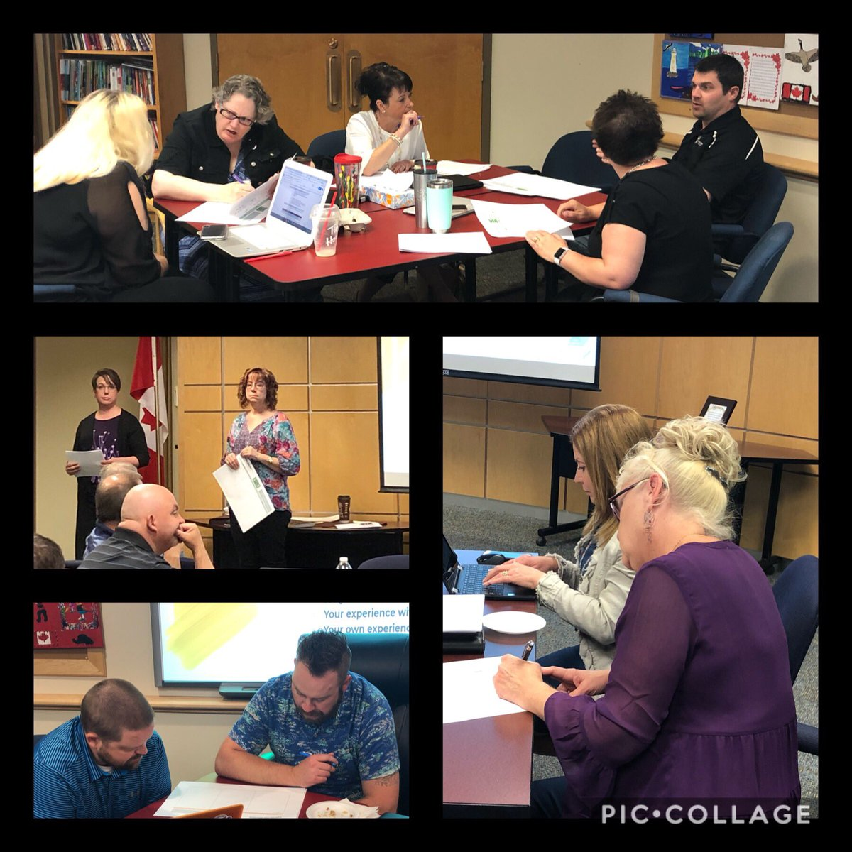 """@WCPS72 Administrators reflect on the Knowledge, Skills, and Attitudes needed to enhance #inclusion in WCPS as we continue moving from """"doing"""" to """"being""""!@ilsWCPS"""