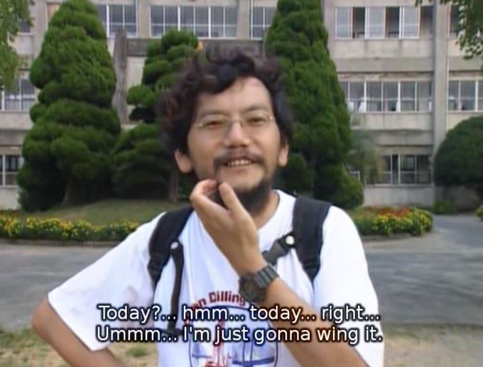 Happy birthday, Hideaki Anno!