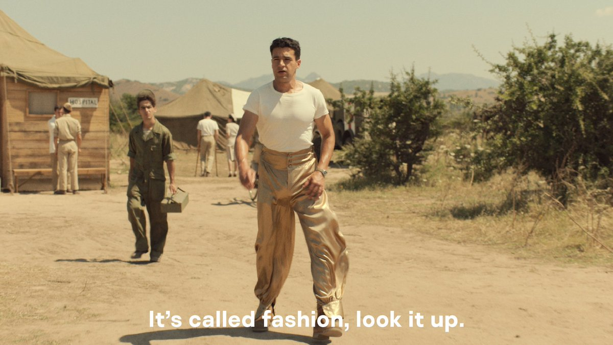 Who says the military doesn't have style? #Catch22 #OOTD