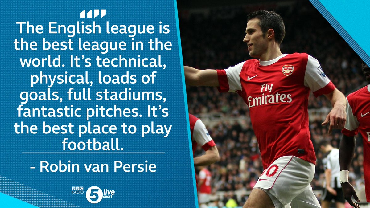 When @bbcsport_david met @Persie_Official ...  ⚽️ Wenger or Ferguson? ⚽️ Arsenal or Man Utd? ⚽️ Emery or Solskjaer?   Listen to the full podcast 👇 📲⚽️: http://bbc.in/2EqZxSB   #bbcfootball