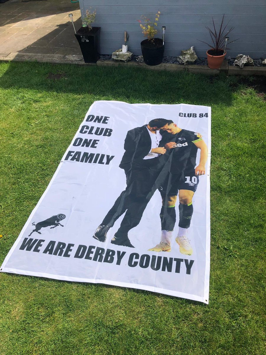 In the midst of recent #dcfc chaos, we at Club 84 were very sorry to hear about the loss of @TomLawrence99 mother. We had hoped to crowd fund a massive banner but unfortunately Wembley red tape has prevented us on this occasion. Our thoughts are with you Tom. #dcfcfans