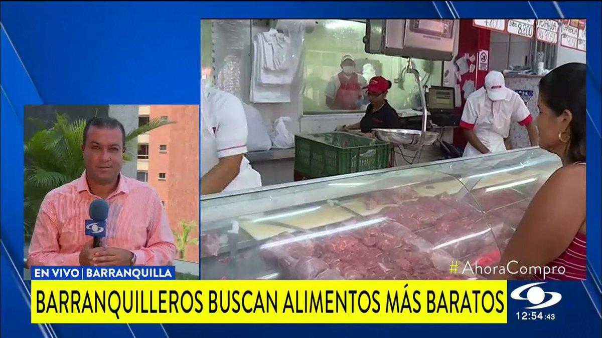 """""""La plata no alcanza"""": barranquilleros buscan las mejores ofertas a la hora de comprar alimentos http://noticiascaracol.com #AhoraCompro"""