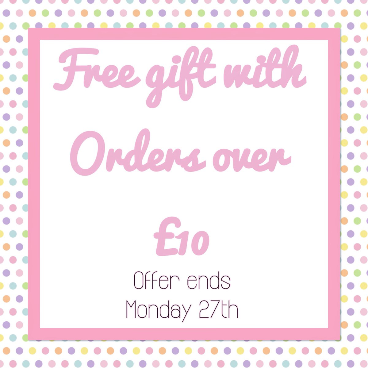 Free gift with every order over £10   https://www. etsy.com/uk/shop/Paperf lowergiftsShop &nbsp; …  #shopsmall #Etsy #gifts #Womaninbiz #wnukr #etsyfinds #giftsforher<br>http://pic.twitter.com/CXG9rTFihm