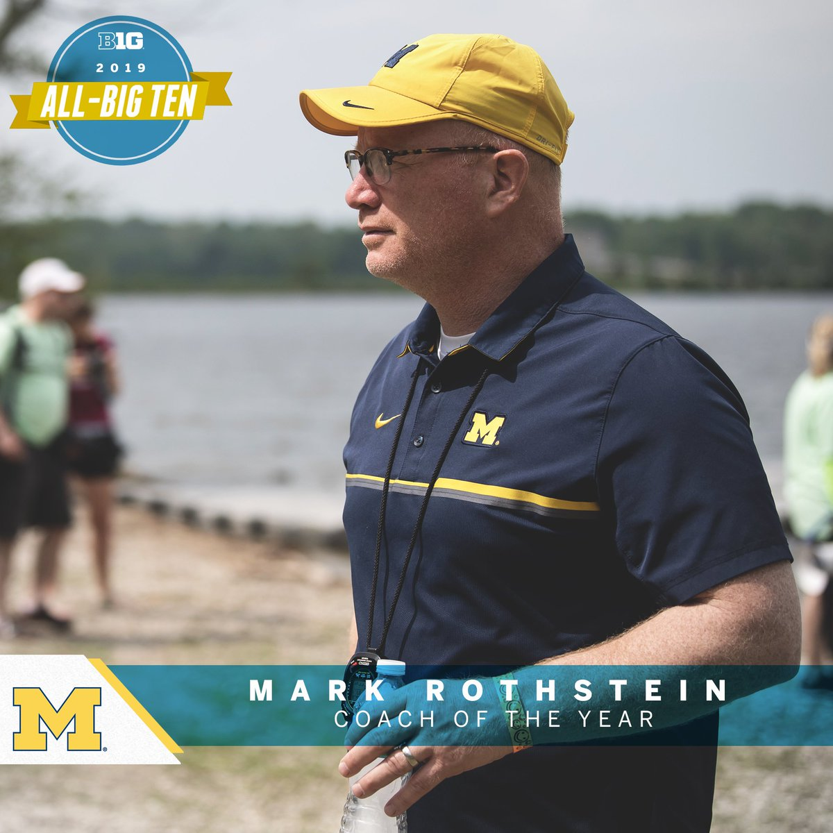 Mark Rothstein of @umichrowing named 2019 Big Ten Rowing Coach of the Year. #B1GRow