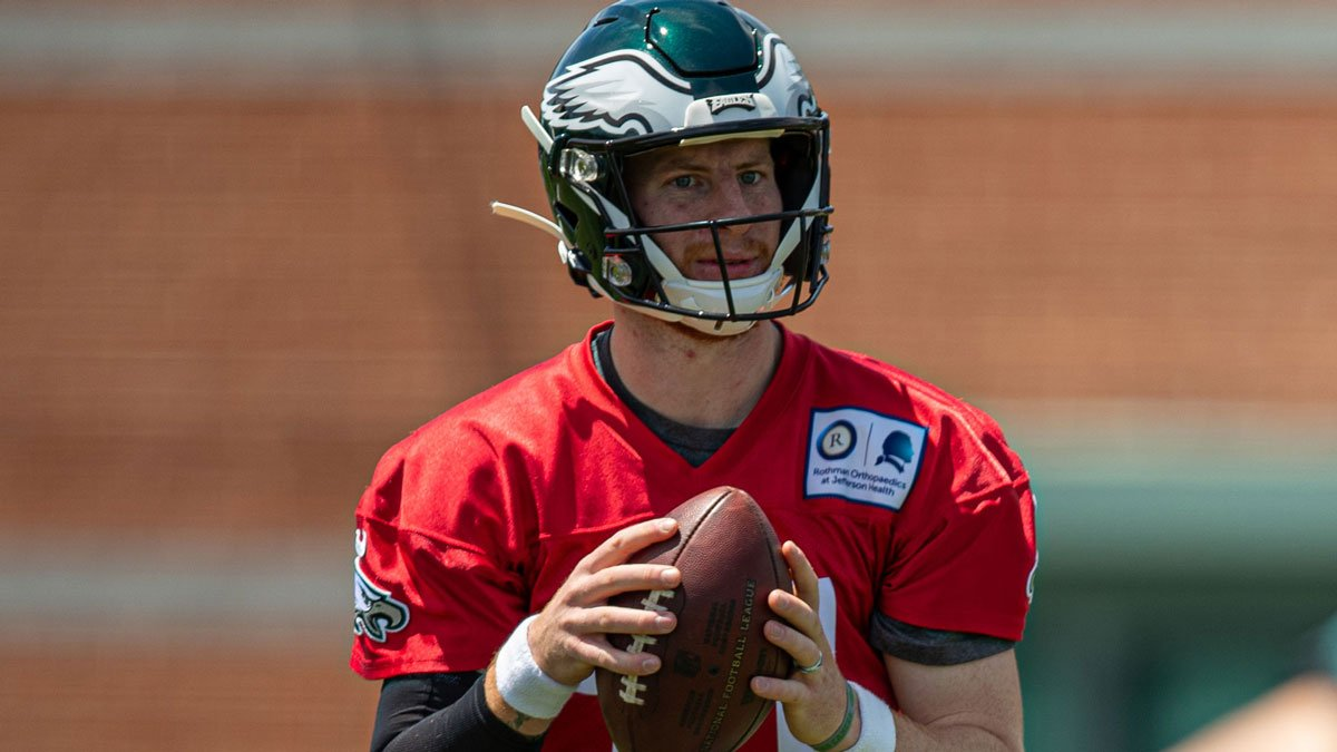 """""""I'm excited to be back out there and I'm excited for the future and what this season is going to hold.""""  📰: http://bit.ly/2VDKEC5  #FlyEaglesFly"""