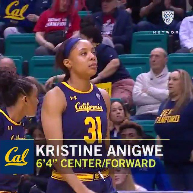 She wrecked shop in #Pac12WBB as a 4-time All-American for @CalWBBall.   Now she's set for Saturday's @WNBA debut with the @ConnecticutSun. Good luck in the league, @KristineAnigwe! 💪 #SheGotGame #BackThePac