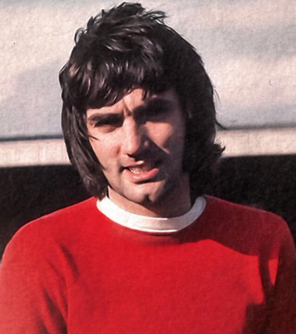 Happy birthday George Best - would have been 73 today