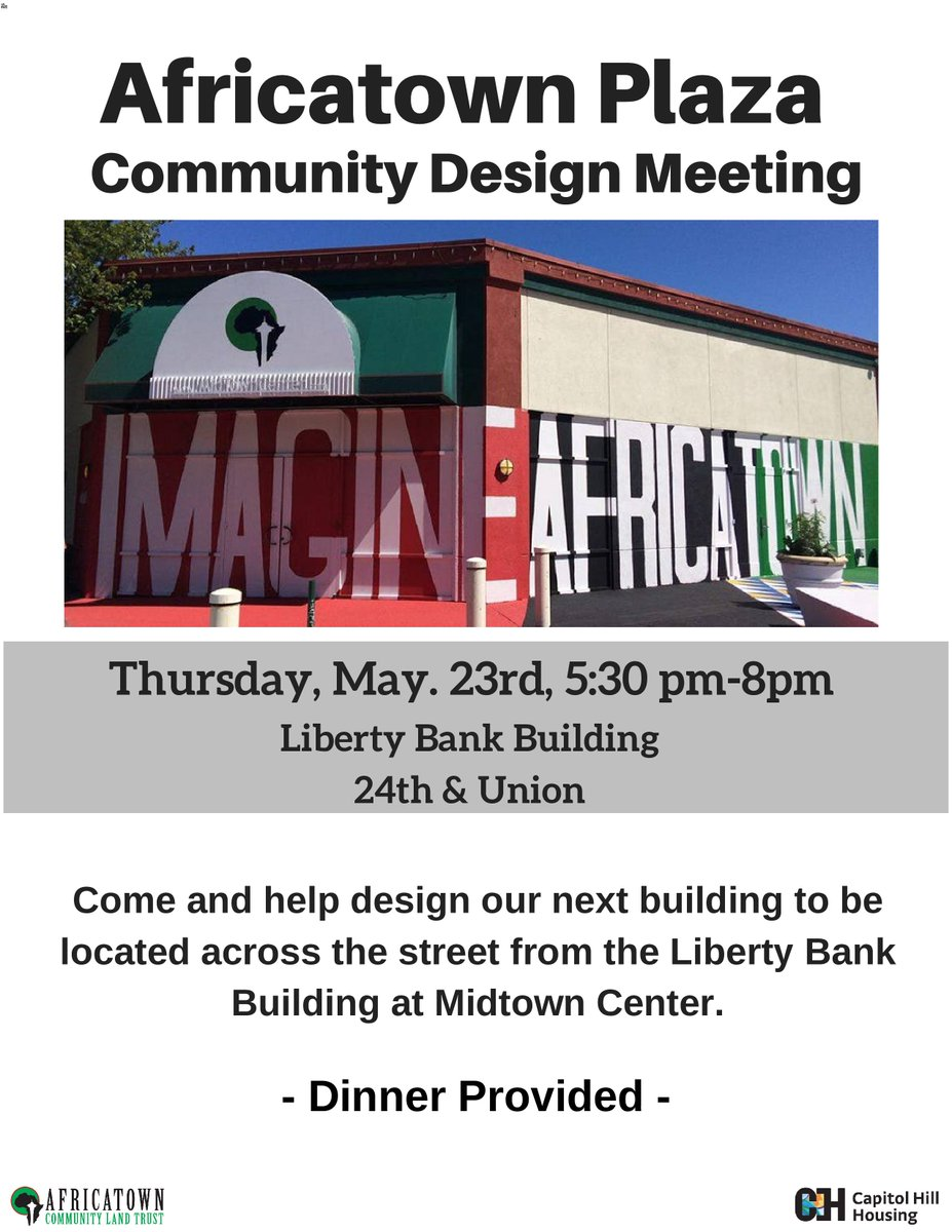 Join us tomorrow to help Design Africatown's next building Africatown Plaza! - mailchi.mp/b638ac0e8c68/i…