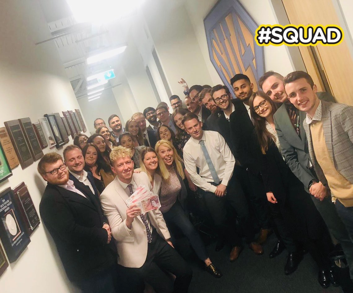 @AEKLHR hosted such an awesome day with our Assistant Managers. @SteveDavo84 on the DASH, @Dayo8or87 on CHAMPS, @CH_erac on Ethics and @U4RiskyBusiness on LDR. Look forward to @LUMAZ1980 day tomorrow #SU4AM19