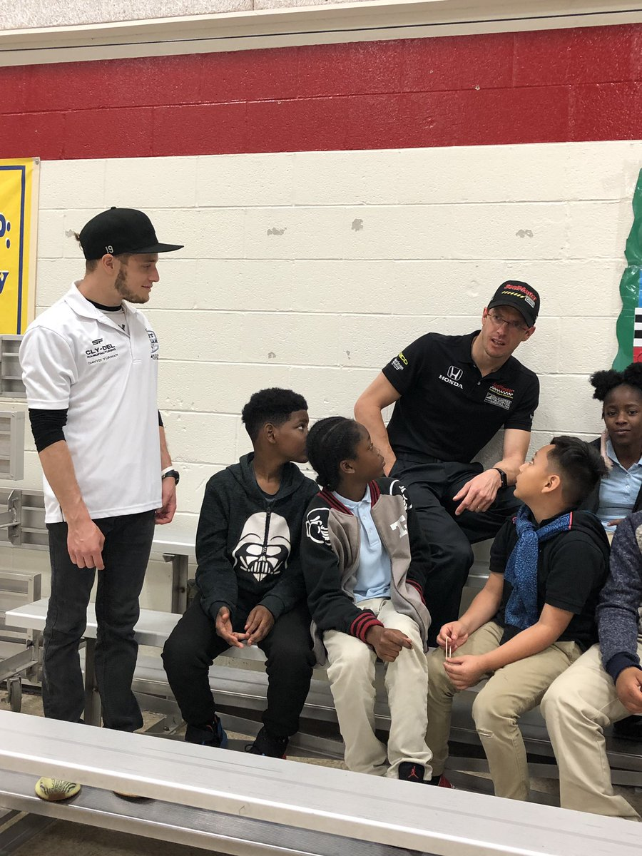 Today I got to visit some of the awesome students at IPS school 61! Check it out ⬇️ #CommunityDay | #ThisIsMay