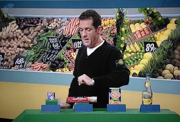 Happy birthday dale winton never forget the time u presented supermarket sweep in stone island clobber RIP geezer