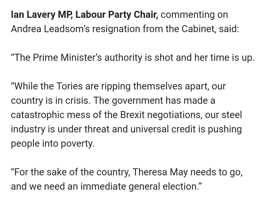 Heres Labours response to all the chaos: