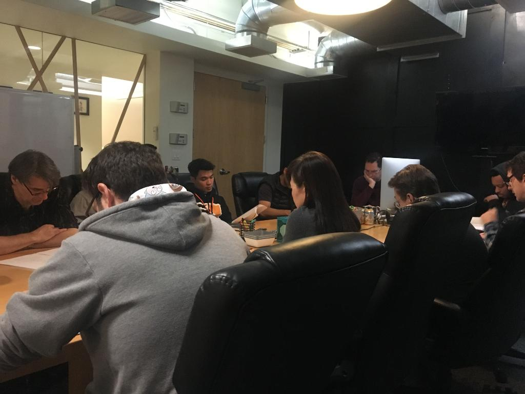 You might think people don't look bored in Rick and Morty meetings. You'd be wrong. <br>http://pic.twitter.com/xBiyB0fZIa