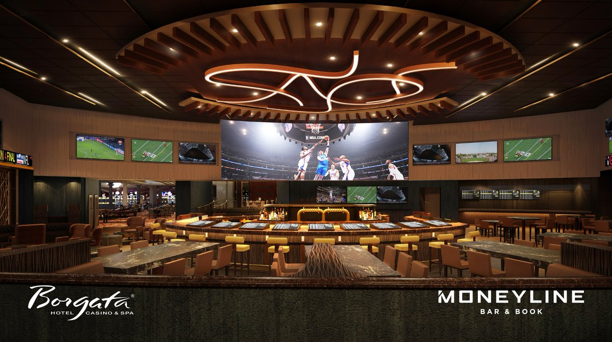 The new sportsbook venue at the @BorgataAC in Atlantic City will open June 29. <br>http://pic.twitter.com/vHOoMcTOWj
