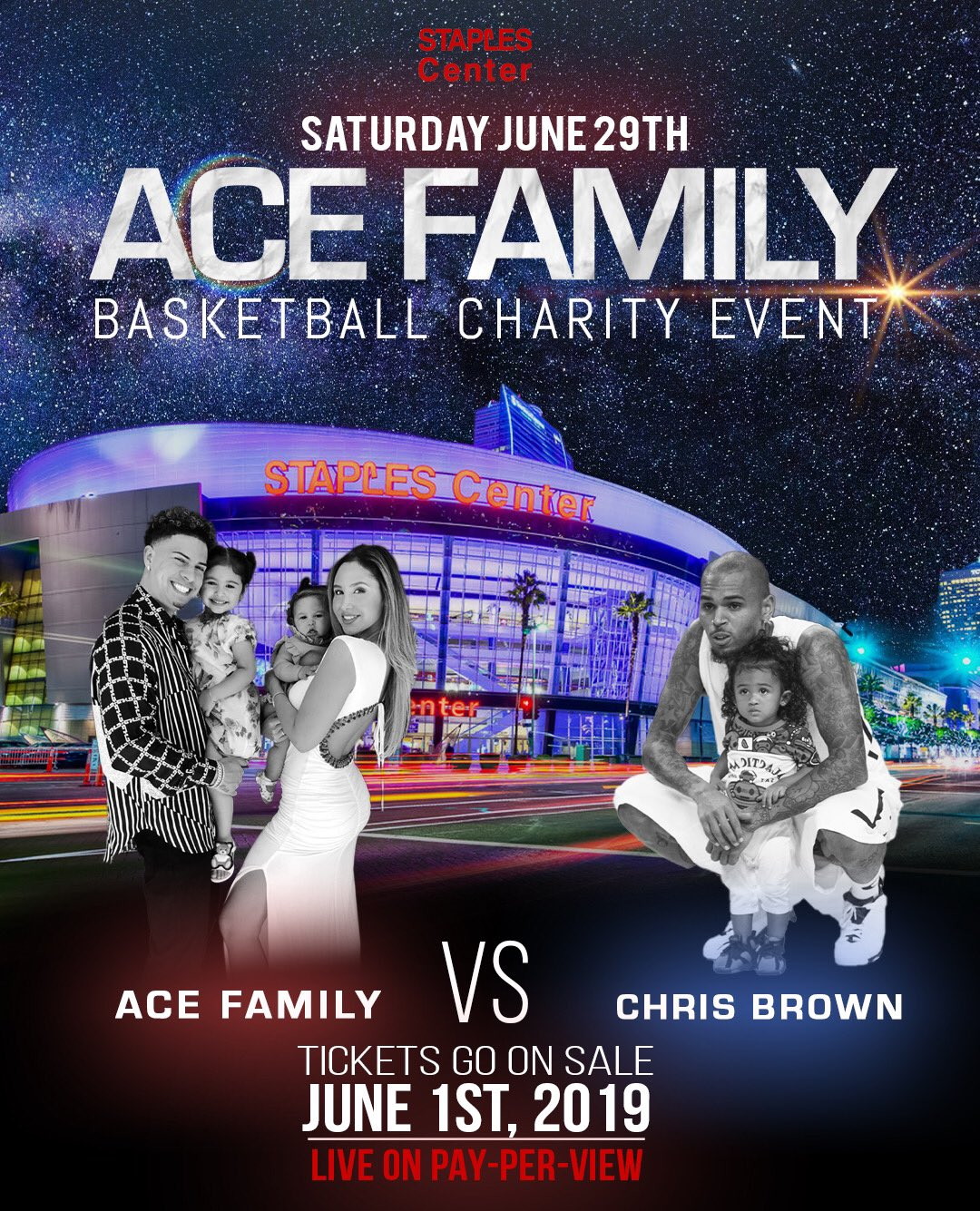 Charity Basketball Live Stream - Shop Ace Family