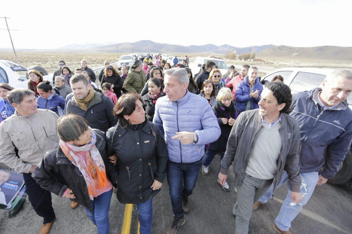 Inauguramos el puente de la Ruta 19 sobre #ArroyoSeco entre #RioPico y #GobernadorCosta. Obras esperadas por los vecinos, que se culminan con esfuerzo y recursos propios. Seguiremos cumpliendo con la palabra, trabajando para buscar soluciones a las necesidades de los #chubutenses