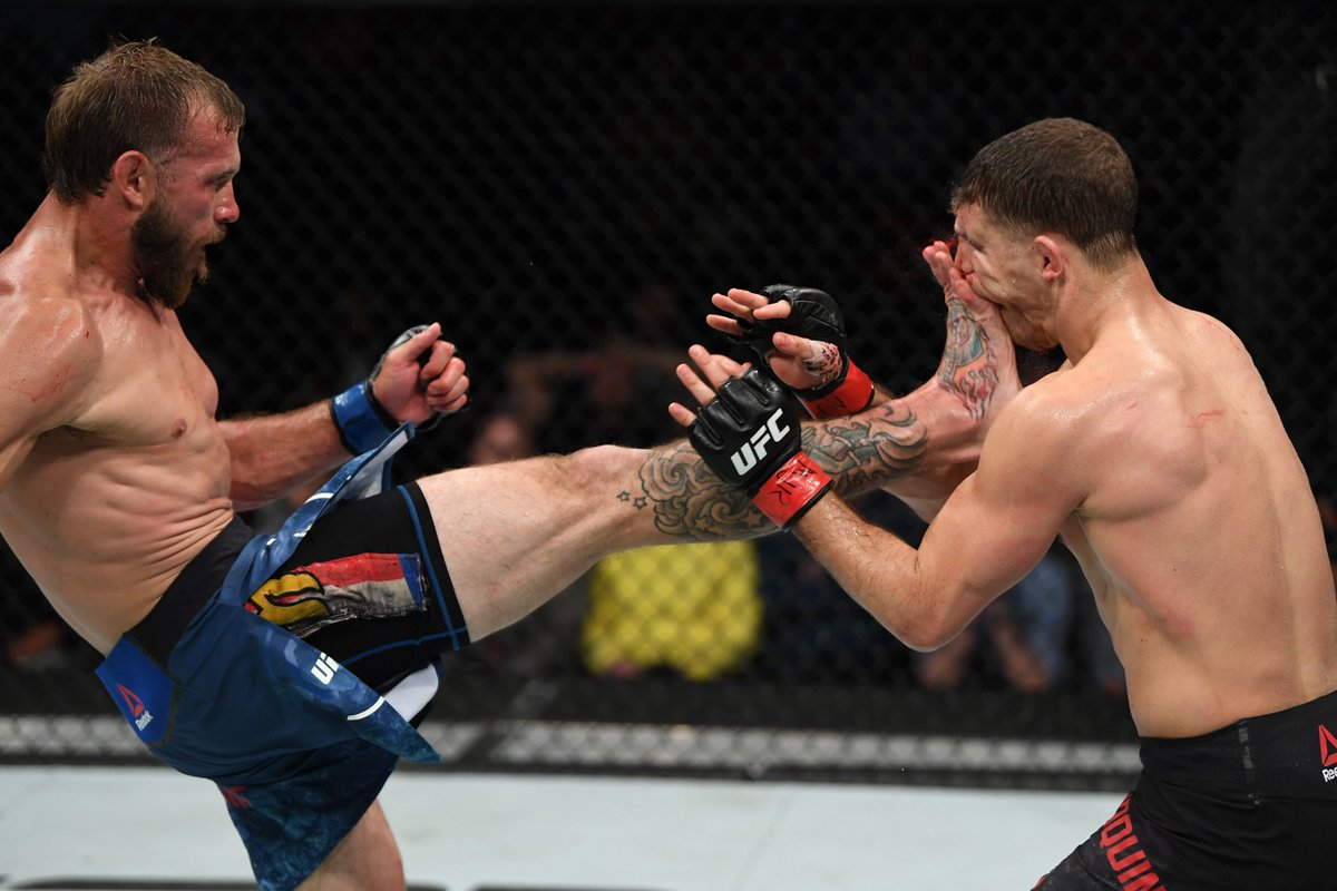 1️⃣8️⃣ days since we last saw @CowboyCerrone.  1️⃣7️⃣ days 'til we see him again. #UFC238