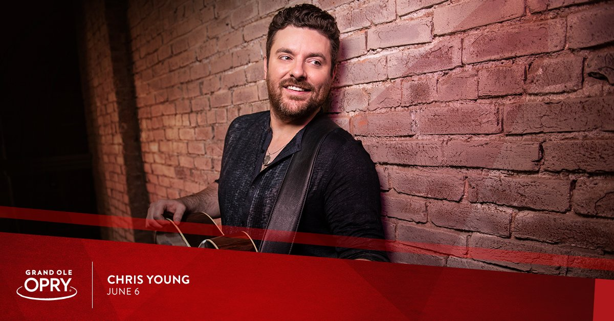 #CMAFest week at the #Opry just got even sweeter ... #OpryMember @ChrisYoungMusic is coming home June 6!   Get your tickets   http:// bit.ly/June6_Opry_tw    <br>http://pic.twitter.com/NRzuGAEBTE