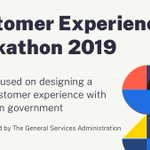 Attention civic-minded hackers! Lend us your skills, help improve government Customer Experience (CX), and be eligible for cash prizes. GSA's 2019 Hackathon registration now open: https://t.co/hjGiNjHnjw #GSACXHackathon2019