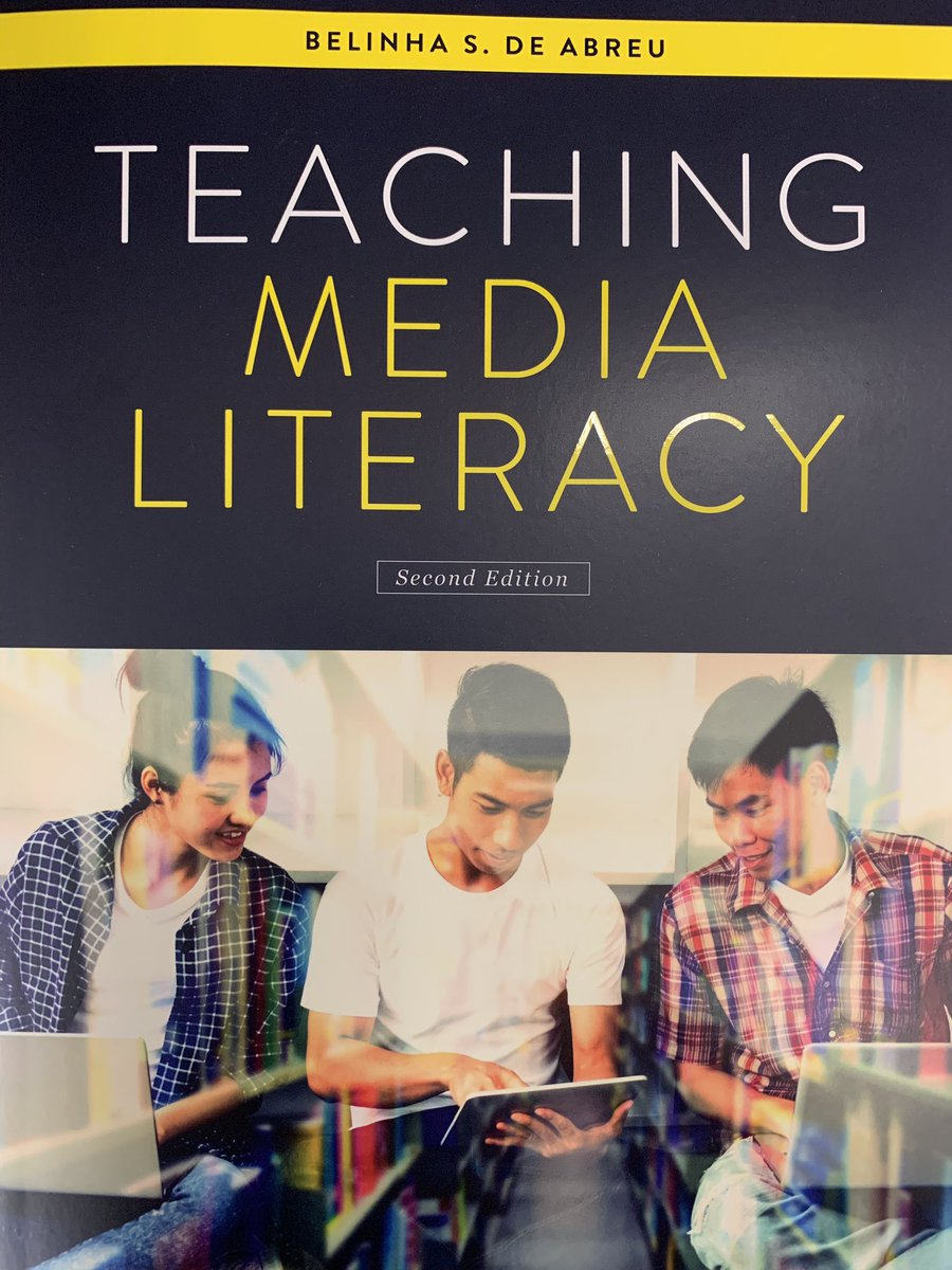 Big shoutout to my co-authors Ben Peterselli, Ryan Goble, Nessa Slowinski, Pam Goble, Mike Roethler and George Wedel for being published in the 2nd Ed. of Teaching Media Literacy by Belinha S. De Abreu! @GlenbardDist87 @GE_Rams @mindblue @MrsSlowinski @GWEnglishDept @ALALibrary