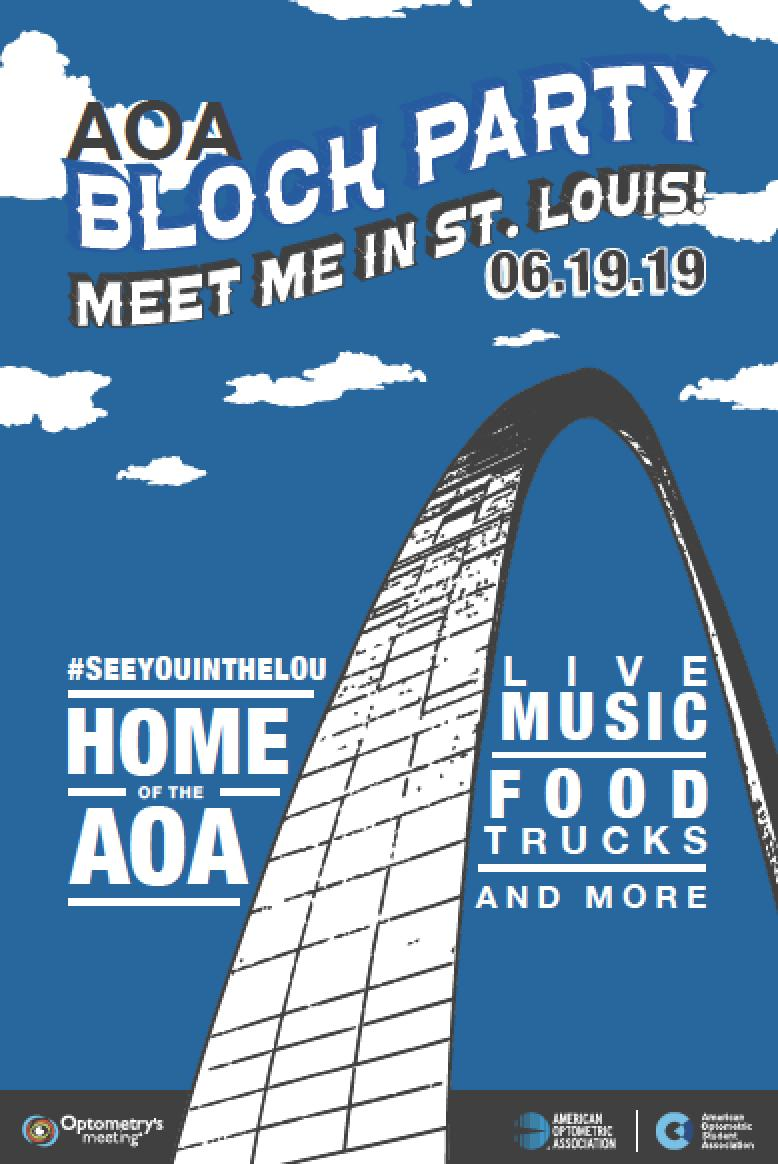4 more weeks! Kick off #OM2019 with live music, food trucks and more @ the AOA Block Party! Join us at @AOAConnect /@TheAOSA headquarters Wednesday, June 19th from 4-7PM!  https://www.optometrysmeeting.org/2019-conference-highlights…  *Bus transportation is provided