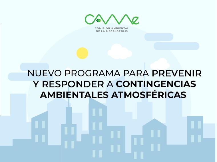 Consulta el Nuevo Programa para Prevenir y responder a #ContingenciasAmbientales Atmosféricas en la #ZMVM. http://bit.ly/2YBNGbU