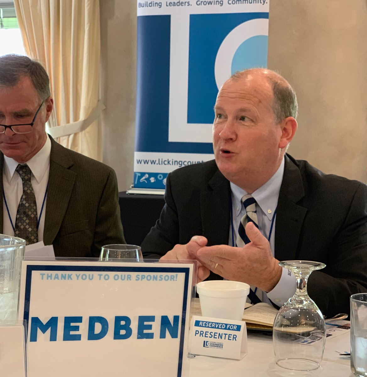 MedBen President & CEO Kurt Harden at Local Leaders Breakfast