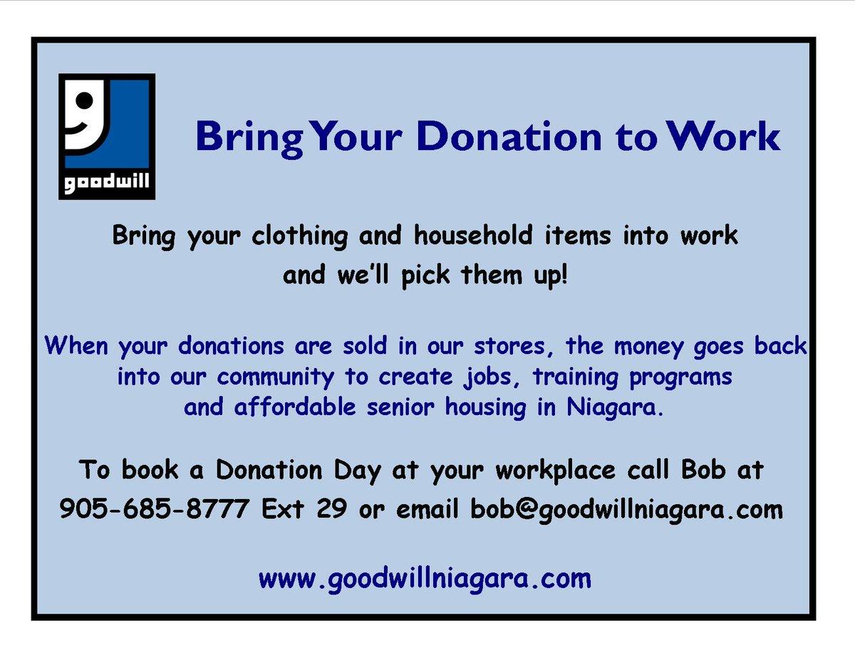 Goodwill Niagara (@goodwillniagara)   ٹوئٹر