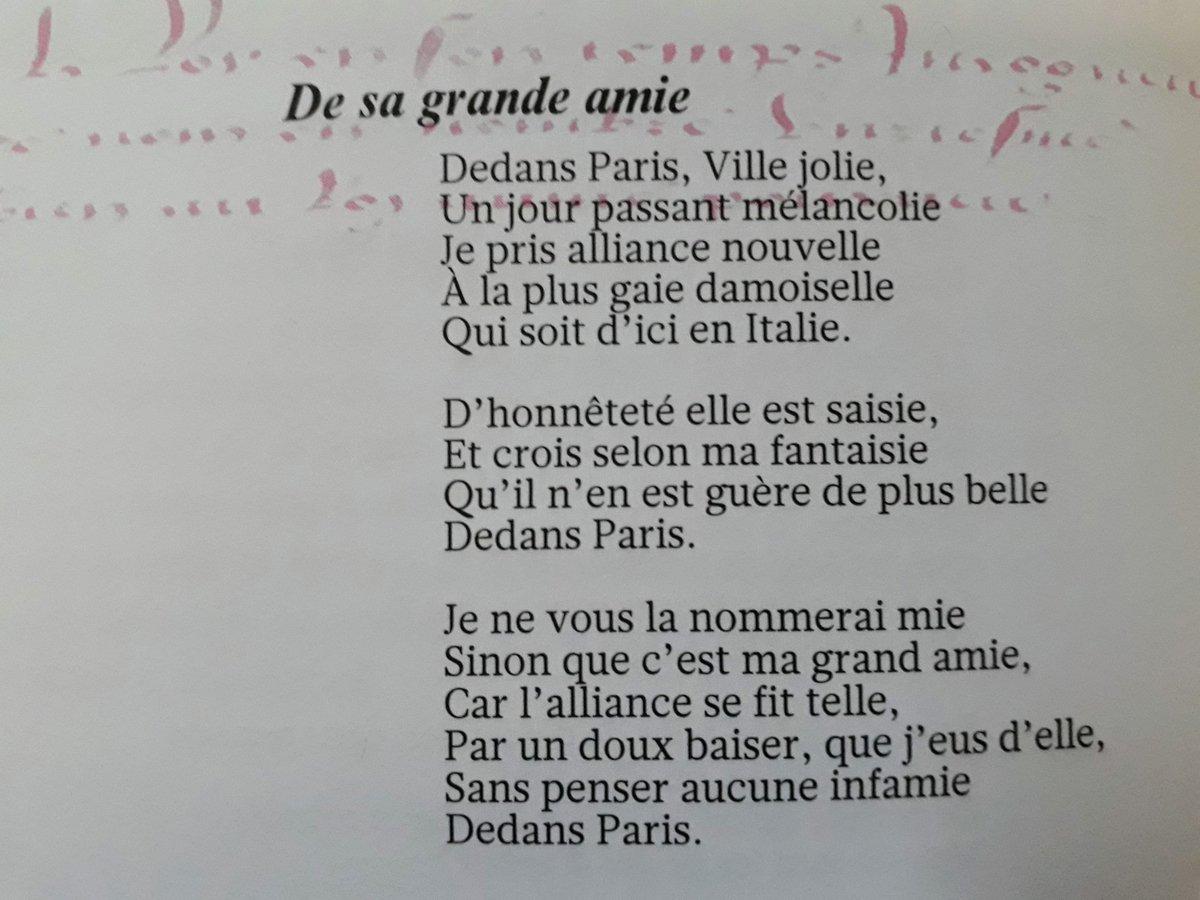 Clément Marot (1496-1544) #poesie