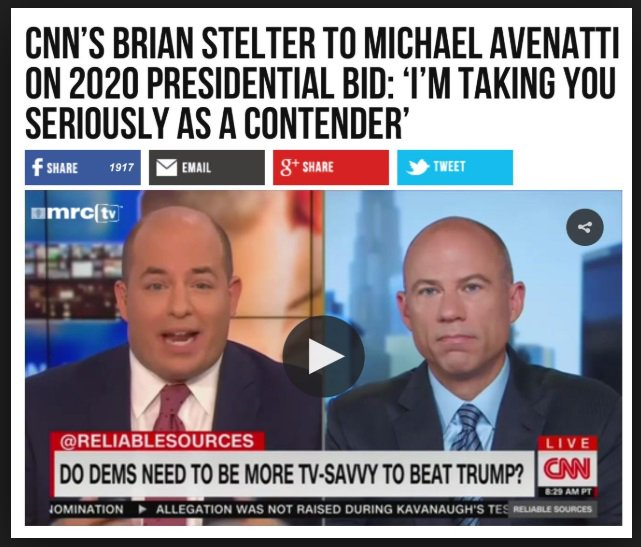 Image result for avenatti cnn stelter