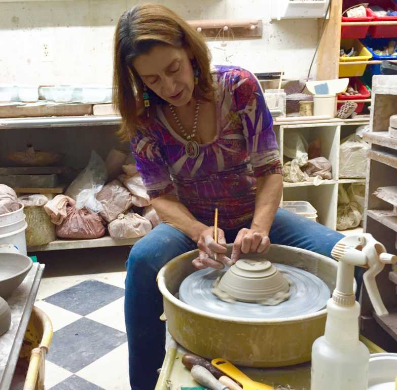 PLEASE SHARE: Now introducing: Mil Wexler Korinski! Now work-shopping: Ceramic Empty Bowls at the 2019 New Jersey State Teen Arts Festival! Mil Wexler Korinski studied art in Amsterdam, Netherlands and afterwards moved to work in a ceramic factory in Israel.