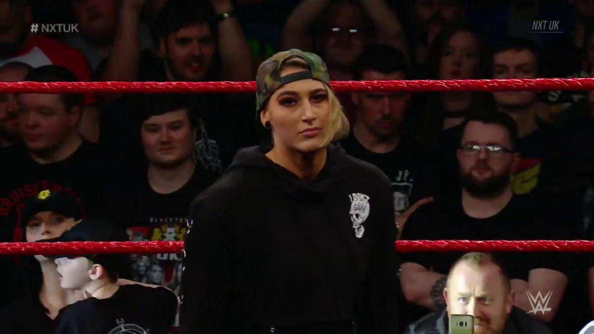 THE NIGHTMARE @RheaRipley_WWE has something to say RIGHT NOW no #NXTUK...