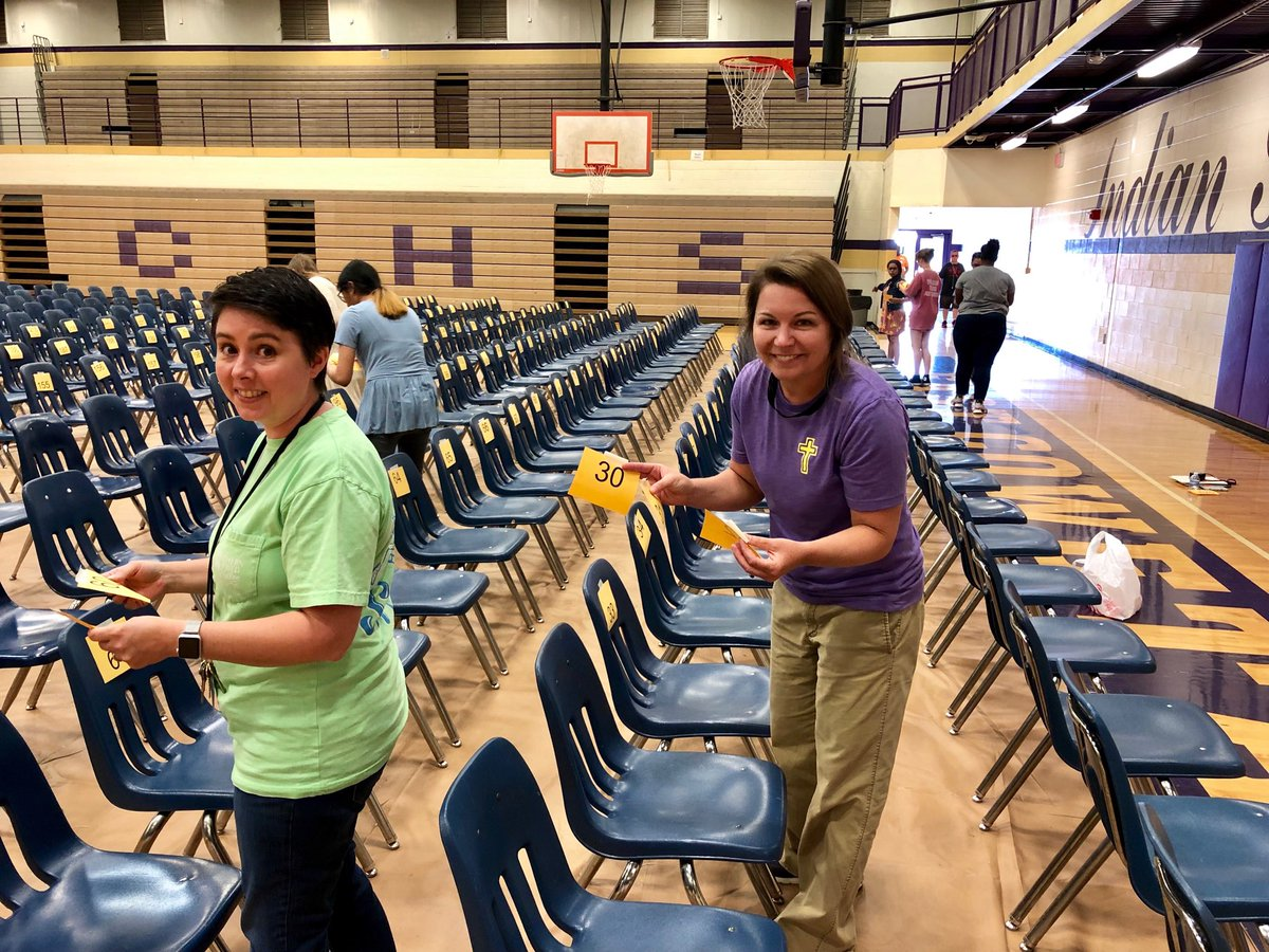 It's about that time... GRADUATION 2019!! Shout out to Micki Byrnes, Amanda Bowles  &amp; all of our proud volunteers for always going the extra mile to make graduation day so special for our amazing seniors!! #LaborOfLove #PurpleAndGoldThroughAndThrough<br>http://pic.twitter.com/HXVsJIyAln