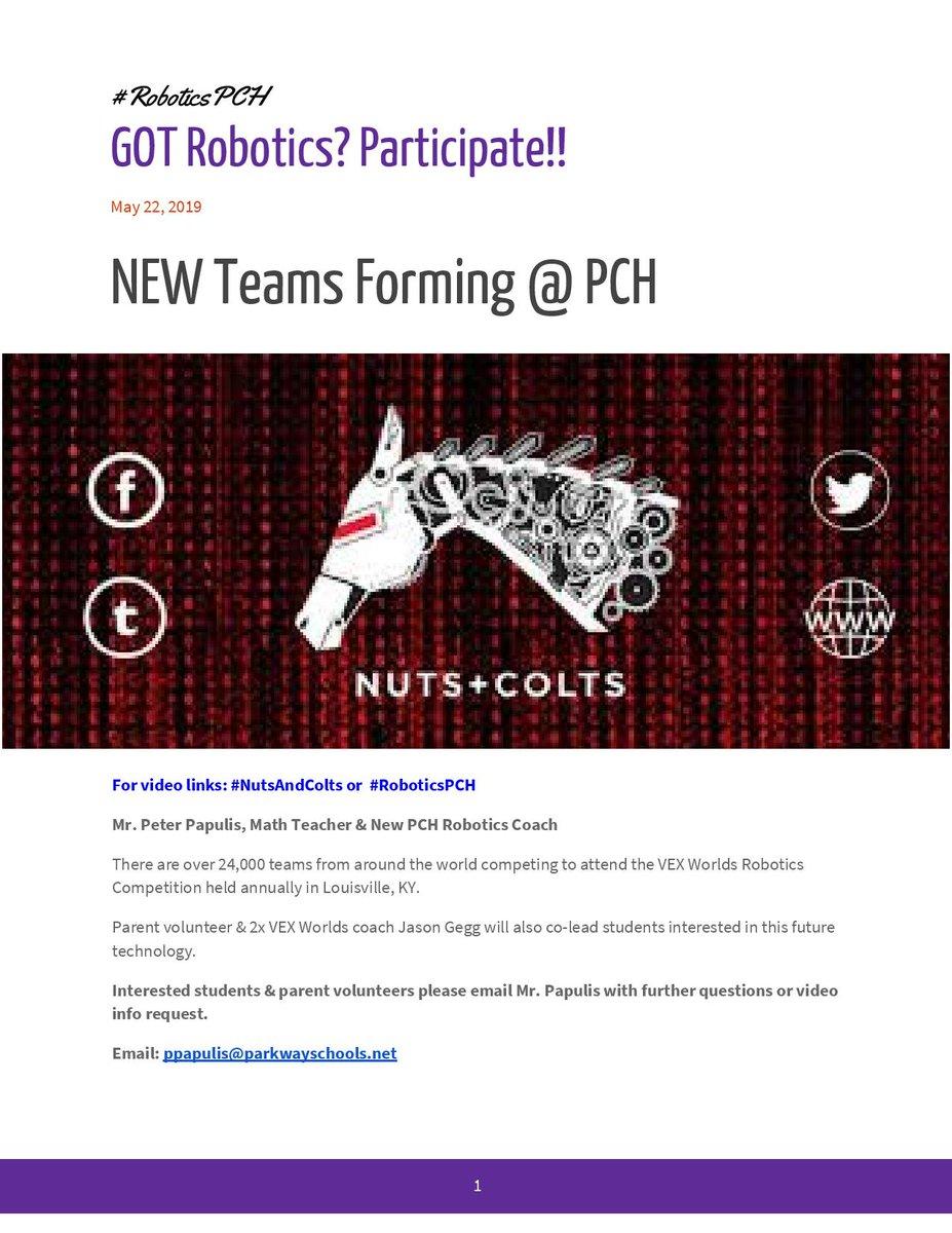 PCH Principal (@PCHPrincipal) | Twitter