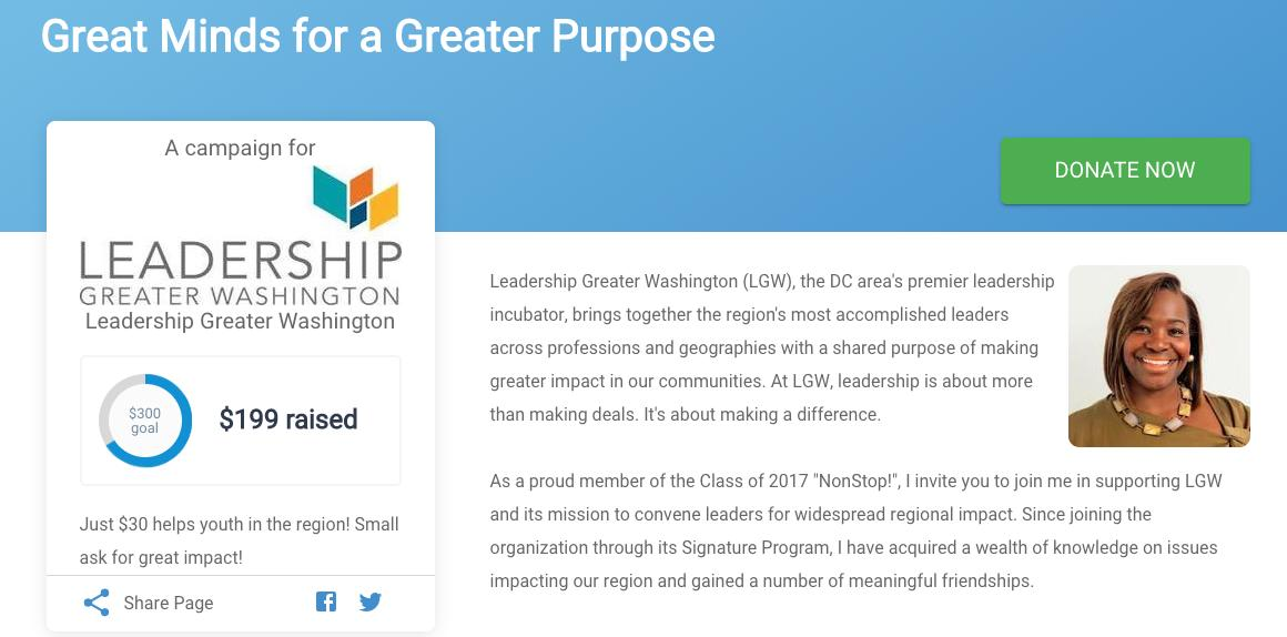 Leadership Greater Washington