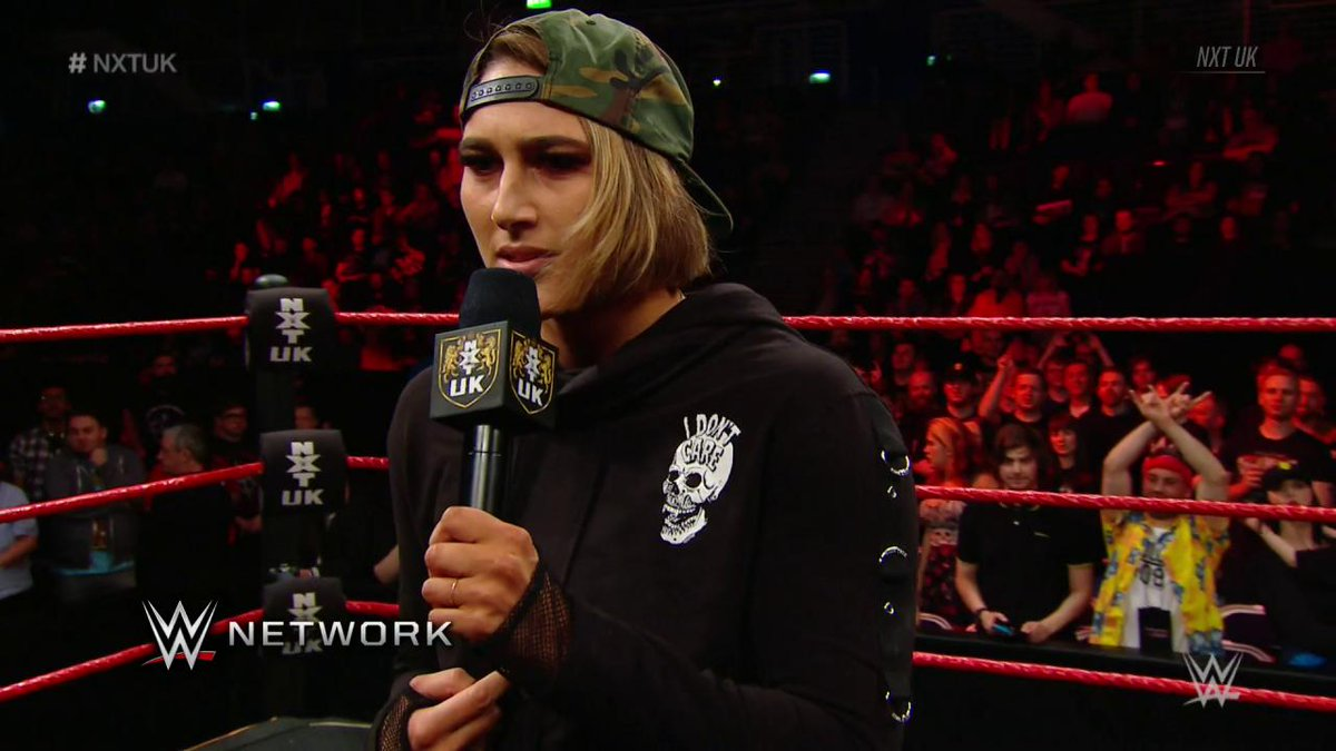 This isn't a dream. From here on out, @RheaRipley_WWE looks to make @viperpiperniven's experience in #NXTUK a NIGHTMARE!