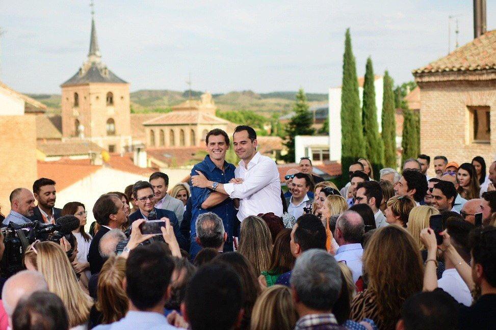 Foto cedida por Cs Madrid