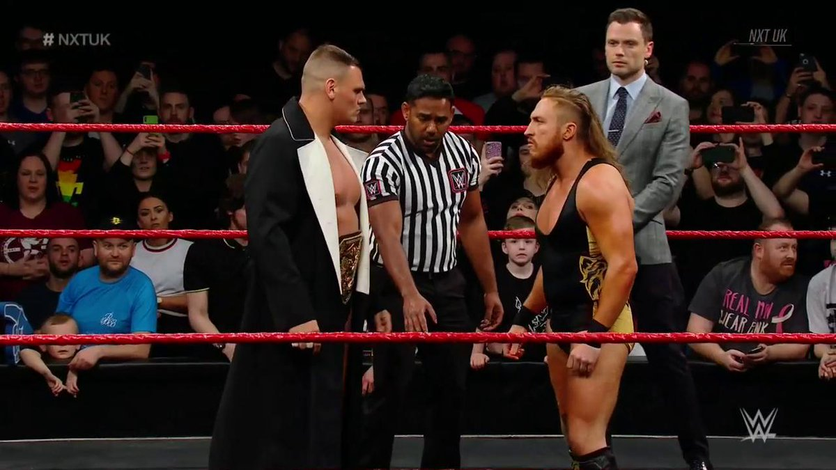 The stage is set. Here we go.#NXTUK @WalterAUT @PeteDunneYxB