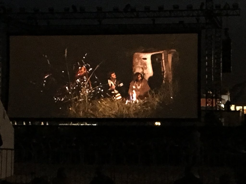 Late night screening of EASY RIDER for its 50th anniversary! Nothing like sitting on the beach in the evening, surrounded by fellow film lovers! #ARUproud #ARUCreative #CinemadelaPlage #Canes2019 #CannesFilmFestival2019