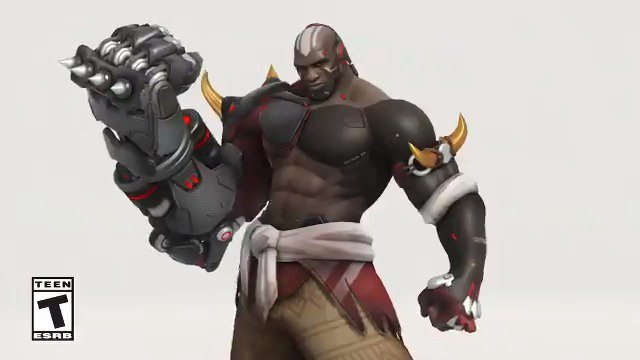 Stealthy, sleek, and packs a punch.  Play as Carbon Fiber Doomfist in the @PlayOverwatch Anniversary event: https://xbx.lv/30F45ym