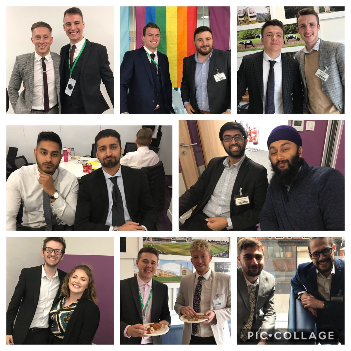 Our New Hire Class had the opportunity to meet their Assistant Managers today at 99. Great onboarding everyone #SU4AM19