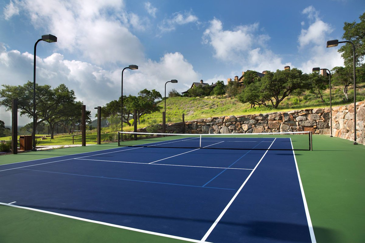 Leave your racquets and balls at home - we have everything you'll need. #BootRanch #GetInspired