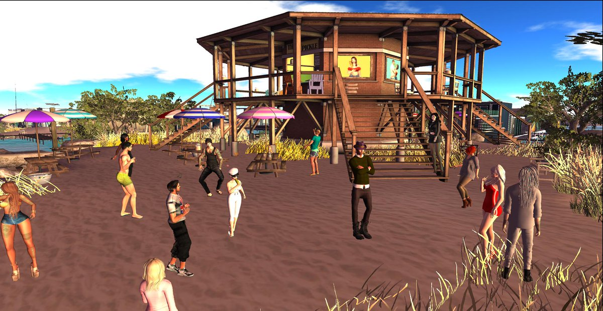 Party at Squishy Pickle with DJ Sophia on now. #SecondLife https://t.co/IgiY5AF2Ve https://t.co/E5saEQQG6q