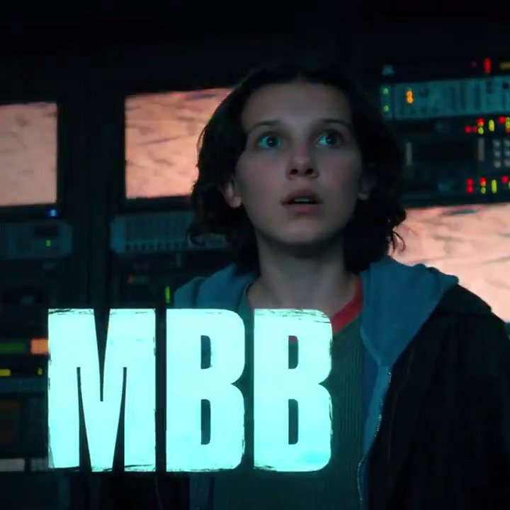 Repost from @Bosslogic: You down? Couldn't resist...yeah you know me 🤣 #milliebobbybrown @godzillamovie #GodzillaMovie #Godzilla. instagram.com/p/BxxR72fnear/