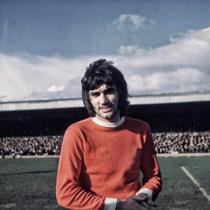 Happy Birthday to George Best, who would have been 73 today. Legend!