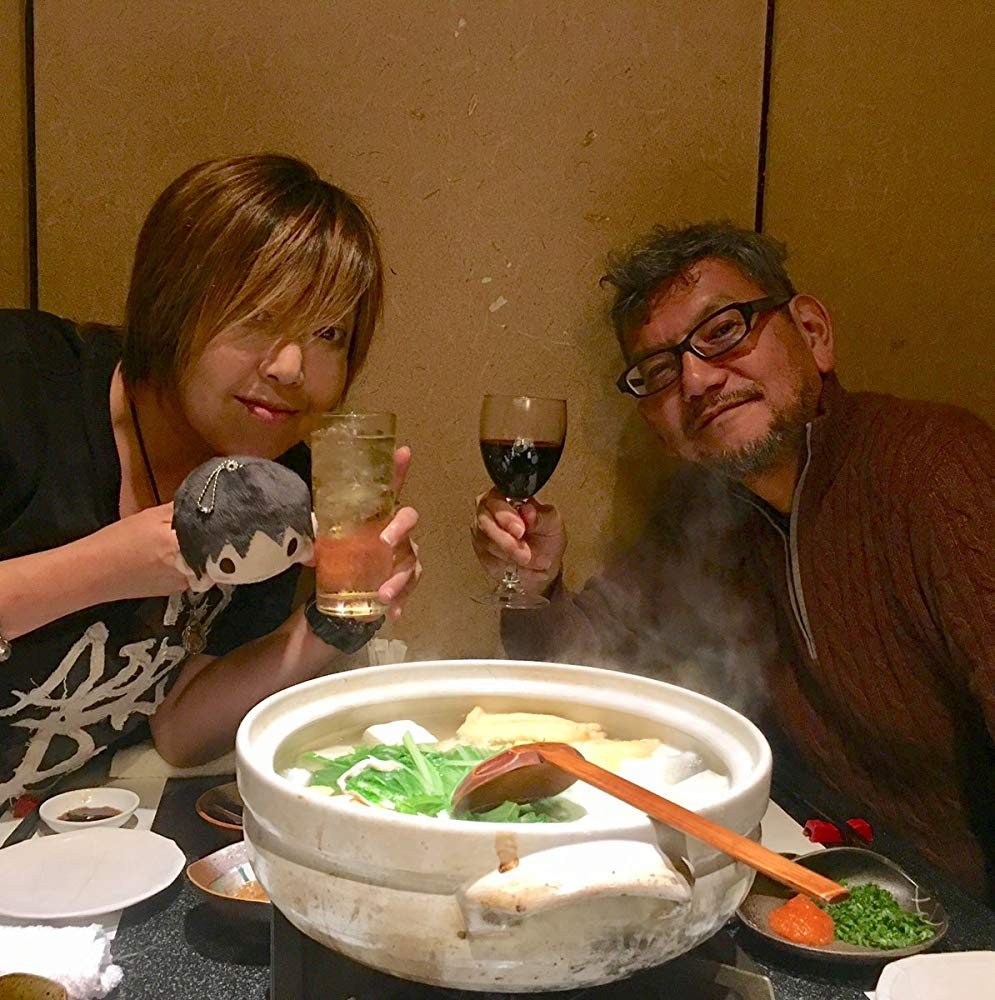 The man, the myth, the legend. It's Hideaki Anno's birthday today! In his honour, here are some of my favourite images involving him, food and quotes